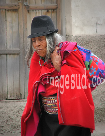 costume traditionnel, Equateur