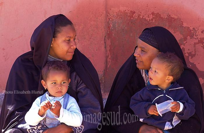 Mères et enfants, Sud Maroc