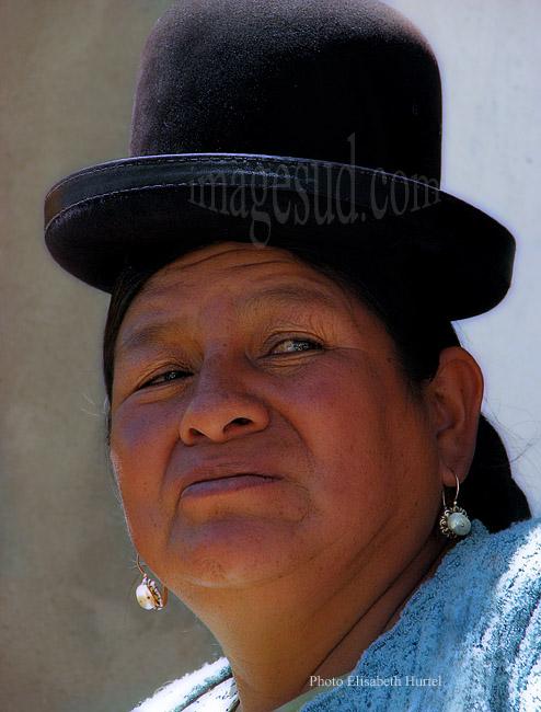 Portrait de femme Aymara, Bolivie
