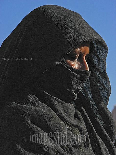 Portrait de femme du sud Maroc
