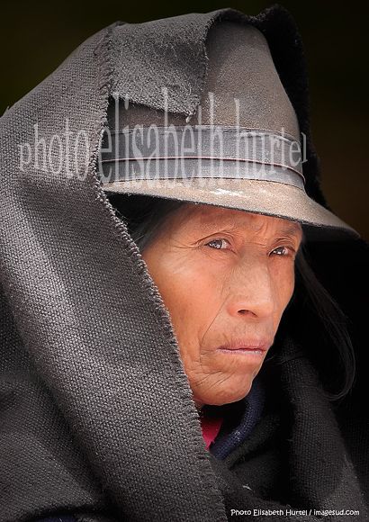 Portrait de femme des Andes, Equateur-9933