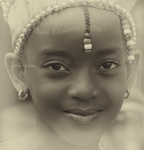 Fillette d'Afrique, n2123-nb