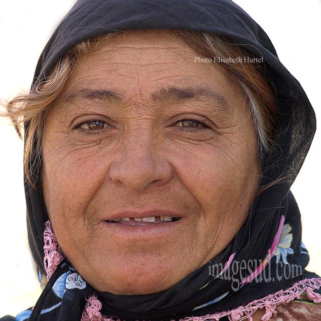 Visage de femme, Turquie p2011