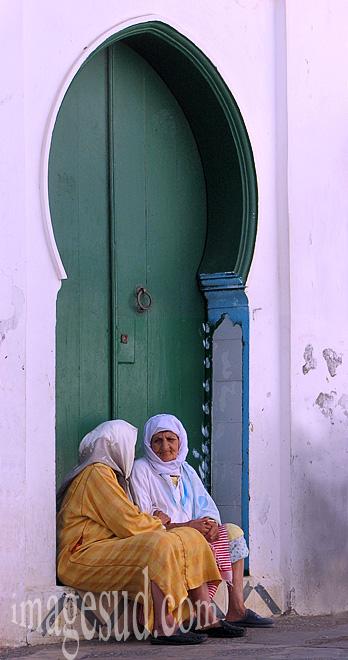 Porte de medina au Maroc