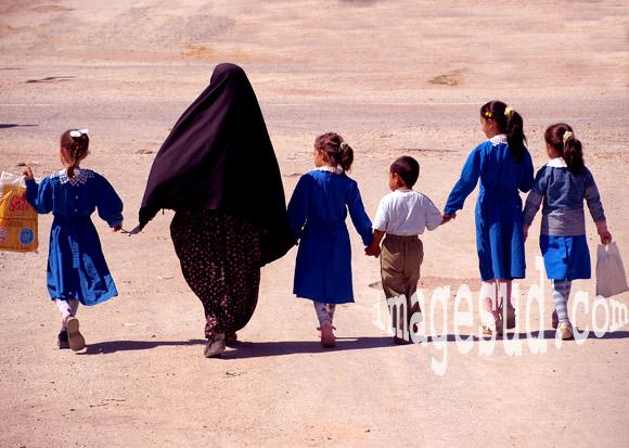 femme et enfants, Turquie