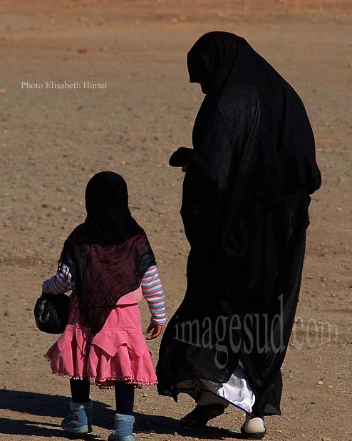 Mère et fille, Islam