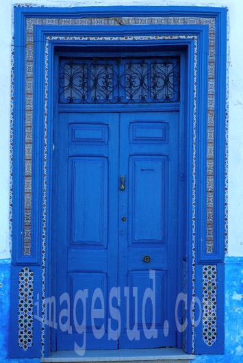 Art et architecture au Maroc : porte de Medina