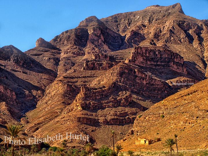 Paysage de l'Anti-Atlas du Sud marocain