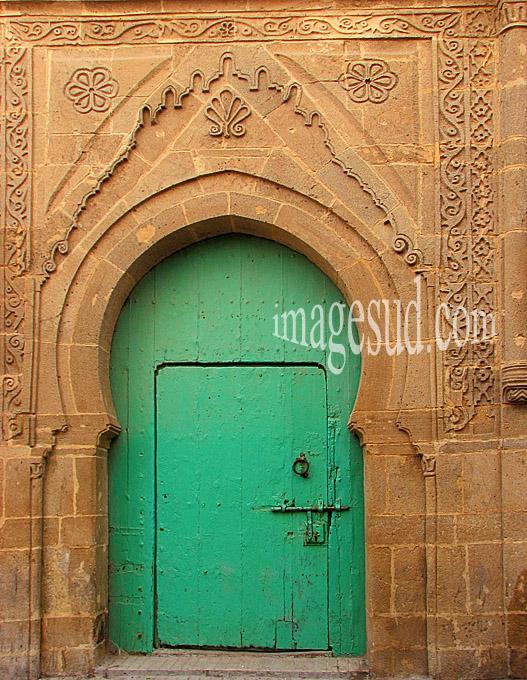 Porte de la medina d'Essaouira au Maroc