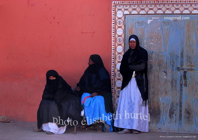 Trois femmes au Sud Maroc, galerie de belles photos du Maroc