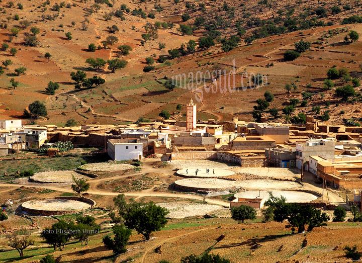 Village de l'Anti-Atlas au Maroc