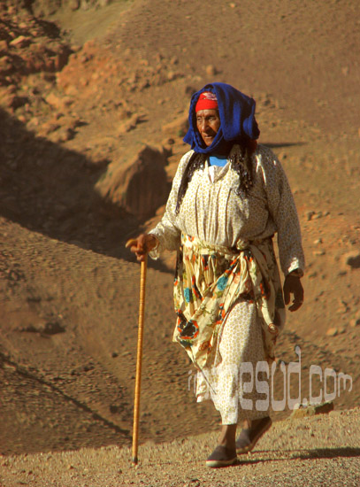 Woman of the countryside, Morocco