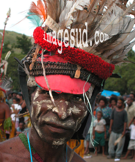 Papua-New-Guinea indigenous people