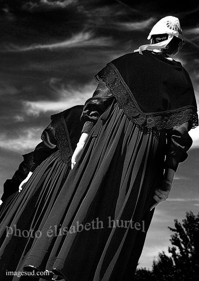 Ambiance de Bretagne en noir et blanc