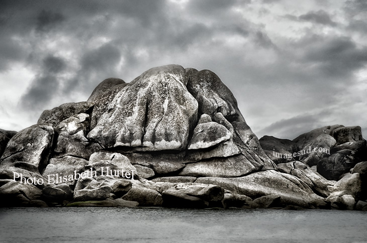 mer, plage et rocher