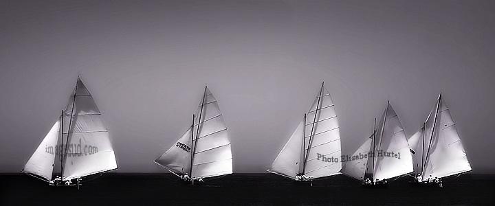 Voiles, photographie minimaliste