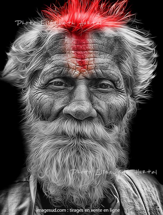 portrait-n5419-noir-blanc-rouge
