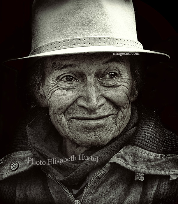 Portrait d'un Indien Quechua des Andes