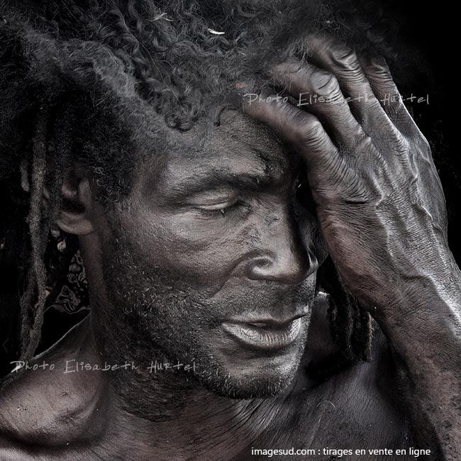 Portrait noir et blanc, tirage en vente en ligne