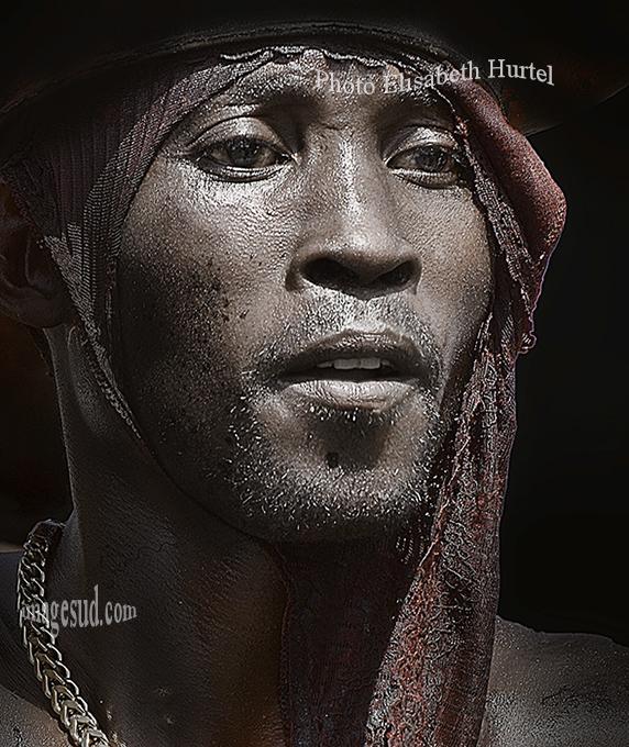 Portrait d'un jeune Africain