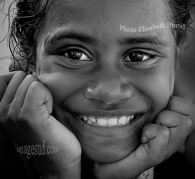 VISAGE DE FEMME en noir et blanc « Photographie d'art en noir et blanc