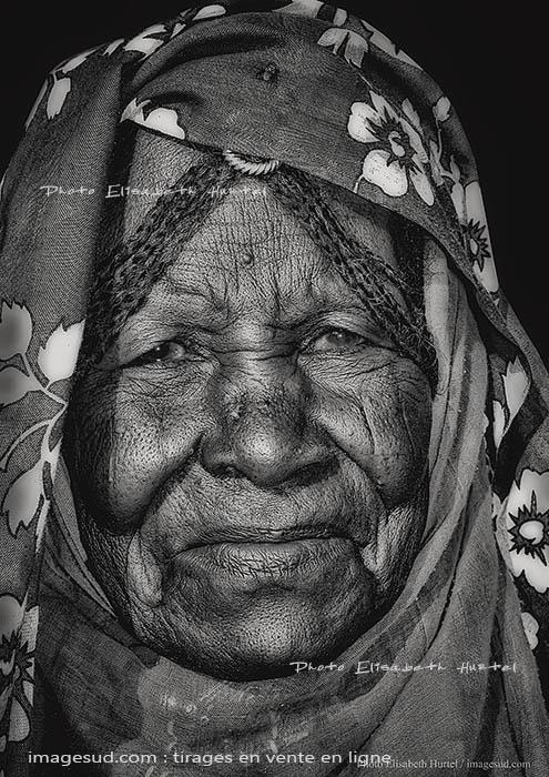 Visage de femme, Afrique