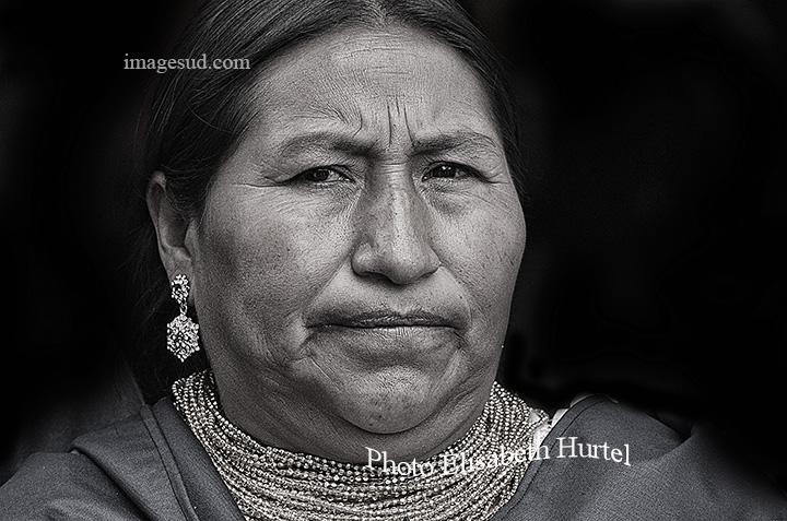Visage de femme, Andes