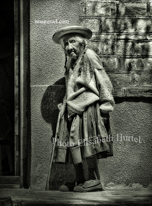Dans une rue de Bolivie