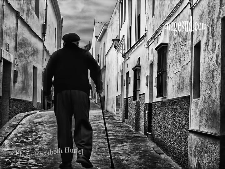 Espagne en noir et blanc, photographie