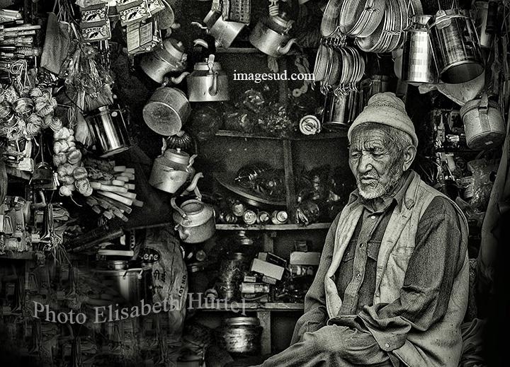 photographie noir et blanc, Inde