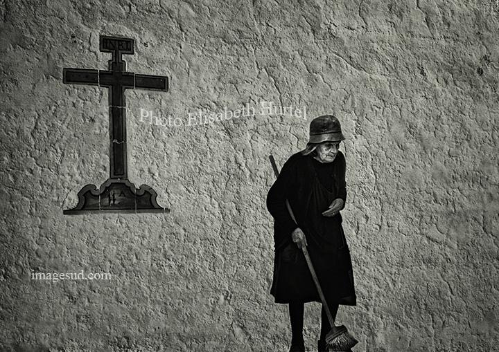 Ambiance au Portugal, photographie en noir et blanc