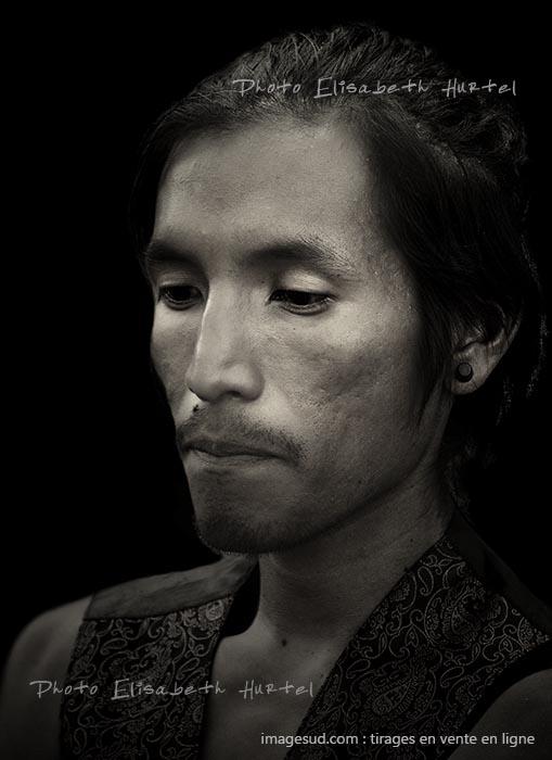 Portrait, photonoir et blanc, tirage d'art en vente en ligne