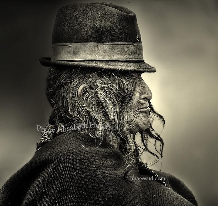 Profil Indien, portrait des Andes