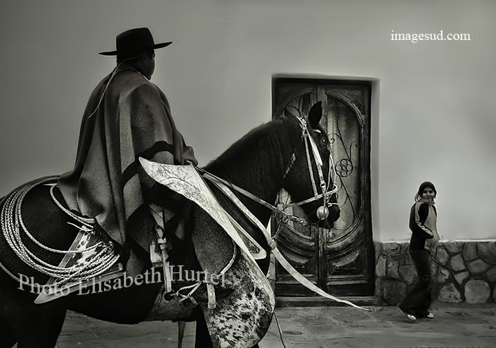 Argentine en noir et blanc, photographie d'art