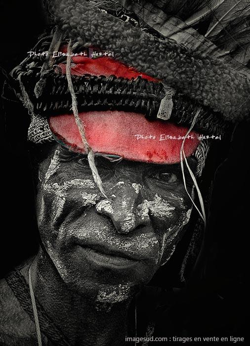 Portrait en noir et blanc, tirage en vente en ligne