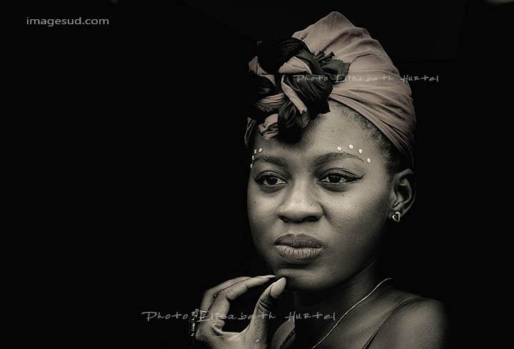 Portrait d'une jeune femme, Afrique