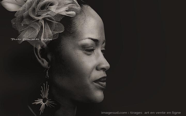 Portrait de femme, Afrique