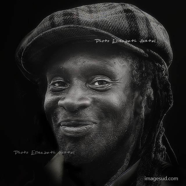 Portrait d'un artiste, reggae