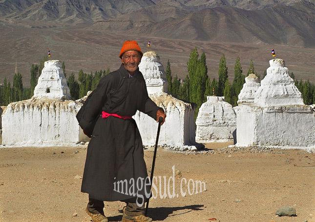 Chorten, au ladakh, Himalaya