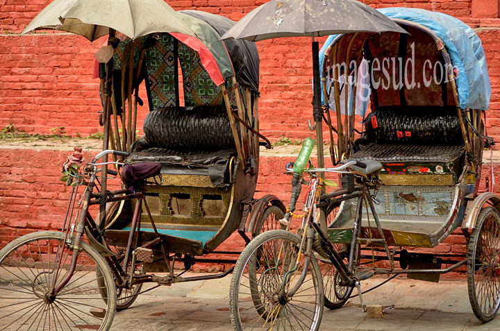 Rickshaw, Nepal
