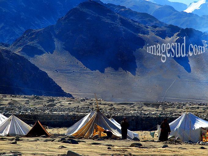 Campement de Bergers nomades, Himalaya, Ladakh